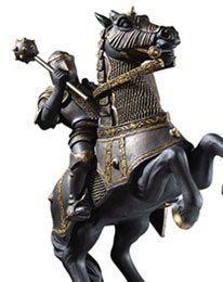 Bookends - Harry Potter - Figure Resin Wizard's Chess Black Knight (20 cm)