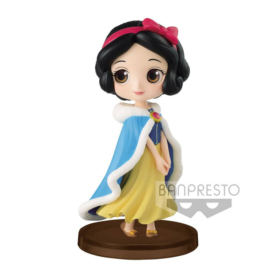 Q Posket Mini Figure - Disney - Snow White & The Seven Dwafs - Snow White (Winter Costume)