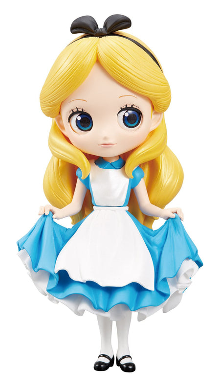 Disney - Q Posket Mini Figure - Alice in Wonderland - Vinyl Figure Alice