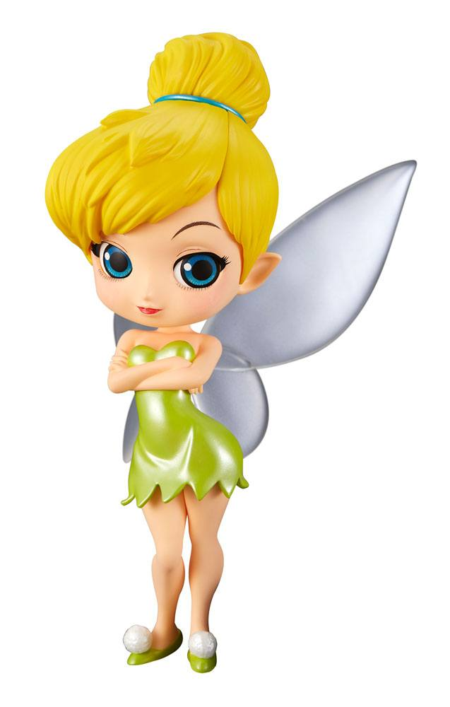 Q Posket Characters - Disney - Peter Pann - Tinker Bell (Normal Color Version)