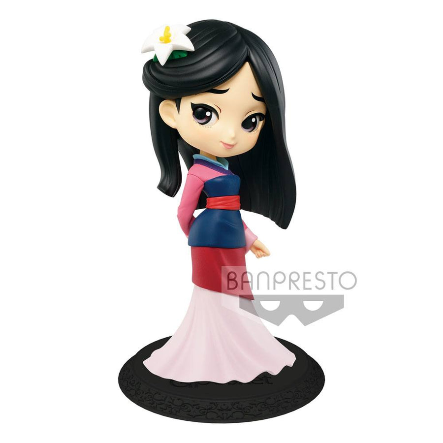 Q Posket Mini Figure - Disney - Mulan - Mulan (Normal Color Version)