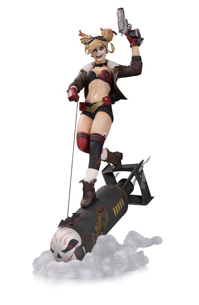 DC Collectibles - Bombshells - Resin Figure Harley Quinn (Deluxe)
