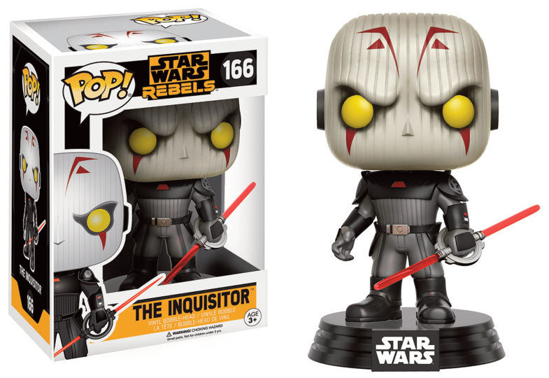 Funko POP! Star Wars Rebels - Vinyl Figure Bobble-Head The Inquisitor (166)