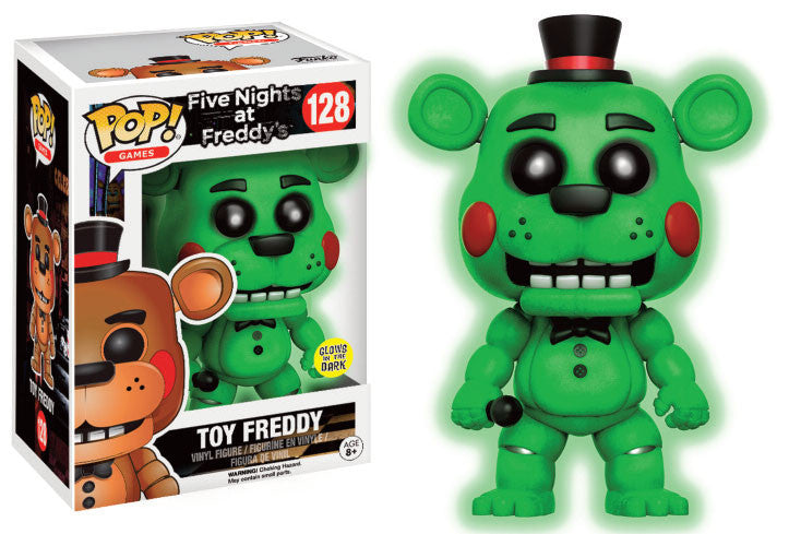 Funko POP! Games - Five Nights at Freddy's  - Toy Freddy (Glows in the Dark) (9 cm)
