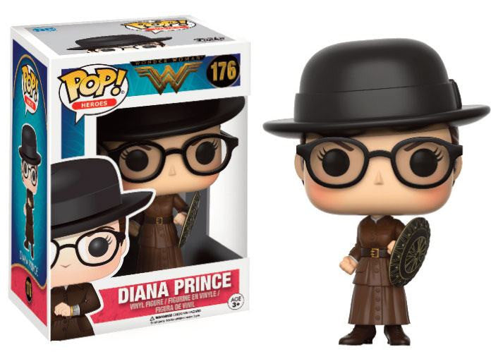 Funko POP! Heroes - Wonder Woman - Vinyl Figure Diana Prince (Exclusive) (176)