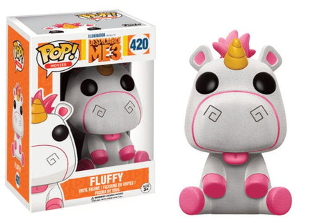 Funko POP! Movies - Despicable Me 3 - Vinyl Figure Fluffy (Flocked) (420)