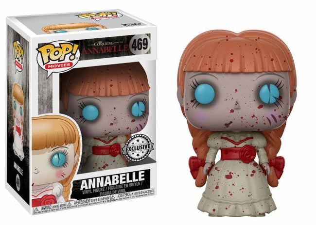 Funko POP! Movies - The Conjuring - Vinyl Figure Annabelle (Bloody) (Exclusive) (469)