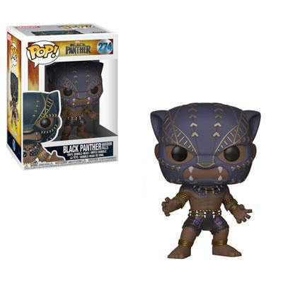 Funko POP! Marvel - Black Panther - Vinyl Figure Bobble-Head Black Panther (Warrior Falls) (274)