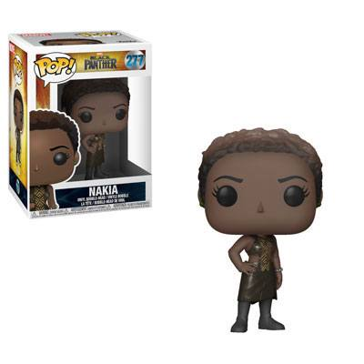 Funko POP! Marvel - Black Panther - Vinyl Figure Bobble-Head Nakia (277)