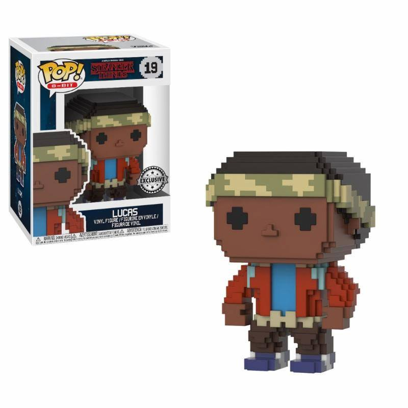 Funko POP! 8-Bit - Stranger Things - Vinyl Figure Lucas (Exclusive) (19)