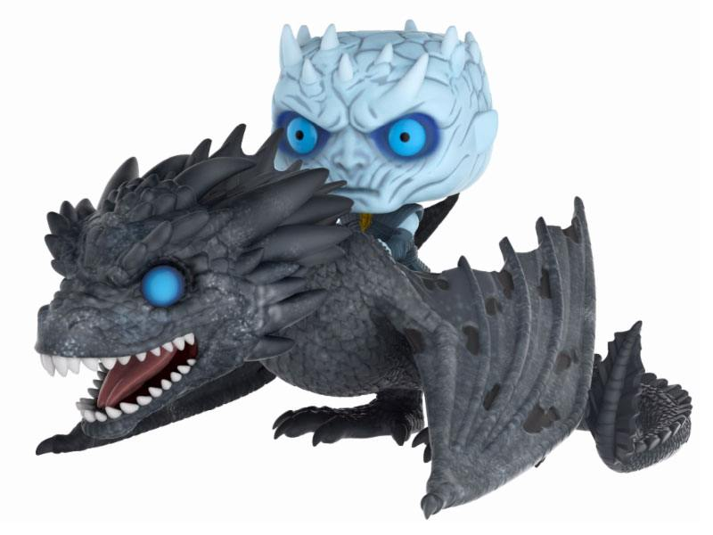 Funko POP! Rides - Game of Thrones - Vinyl Figure Night King & Icy Viserion (GITD) (58)