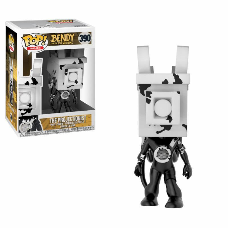 Funko POP! Games - Bendy and the Ink Machine - Vinyl Figure The Projectionist (390)