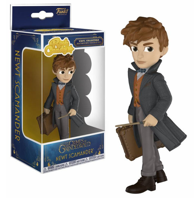 Funko Rock Candy - Fantastic Beasts, The Crimes of Grindelwald - Vinyl Figure Newt Scamander