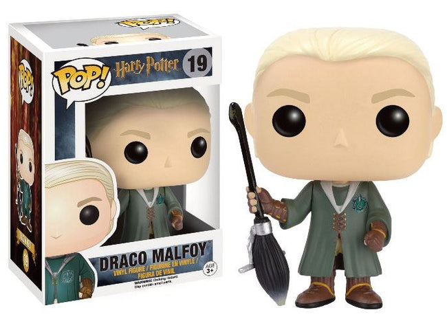 Funko POP! Movies - Harry Potter - Vinyl Figure Draco Malfoy (Quidditch) (Exclusive) (19)