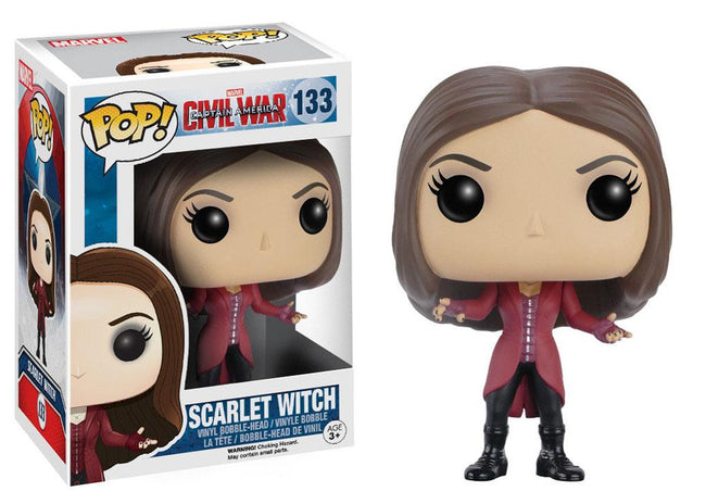 Funko POP! Marvel - Captain America, Civil War - Vinyl Figure Scarlet Witch (133)