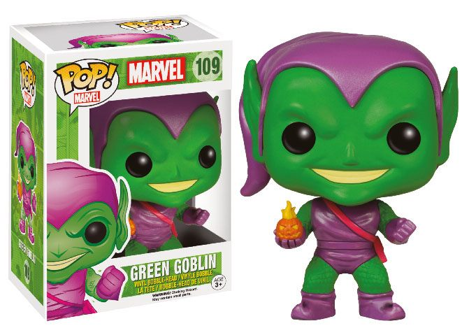 Funko POP! Marvel - Spider Man - Vinyl Figure Green Goblin (109) Exclusive
