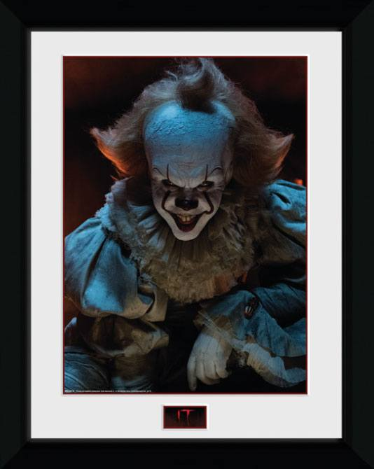 Framed Poster - It - Pennywise (Smile) (45 x 34 cm)