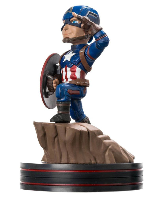 Q-Fig Figure - Marvel - Captain America, Civil War - Captain America