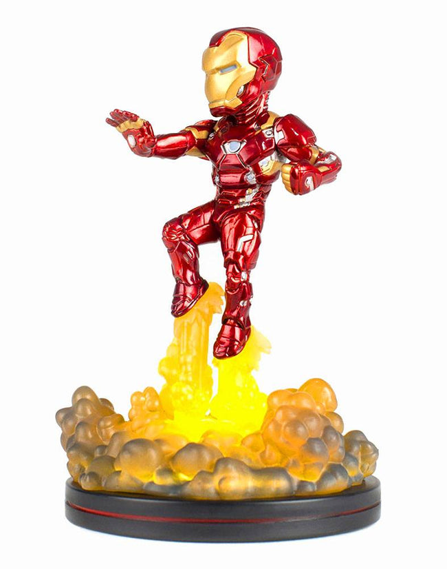 Q-Fig Figure - Marvel - Captain America, Civil War - Iron Man (Lights Up !)