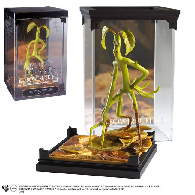 The Noble Collection - Fantastic Beasts Magical Creatures Statue Bowtruckle 18 cm