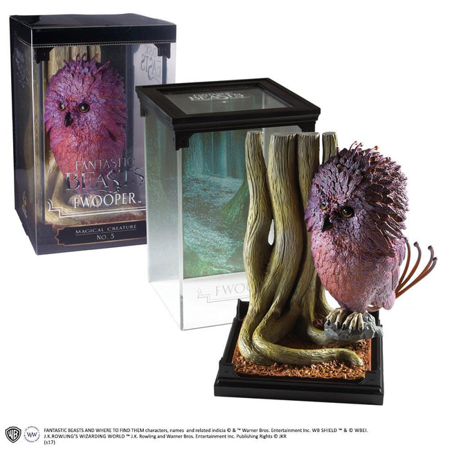 The Noble Collection - Fantastic Beasts Magical Creatures Statue Fwooper 18 cm