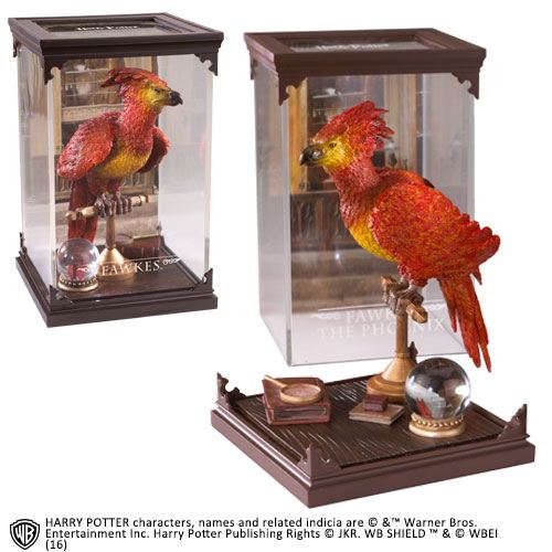 The Noble Collection - Magical Creatures - Harry Potter - Resin Figure Fawkes The Phoenix (8)