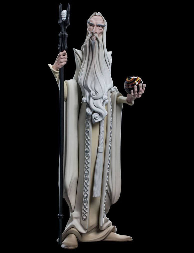 WETA Mini Epics - The Lord of the Rings - Vinyl Figure Saruman (9)