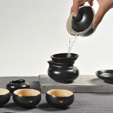 Load image into Gallery viewer, Gold Lining Tang Yue Yao Tea Set