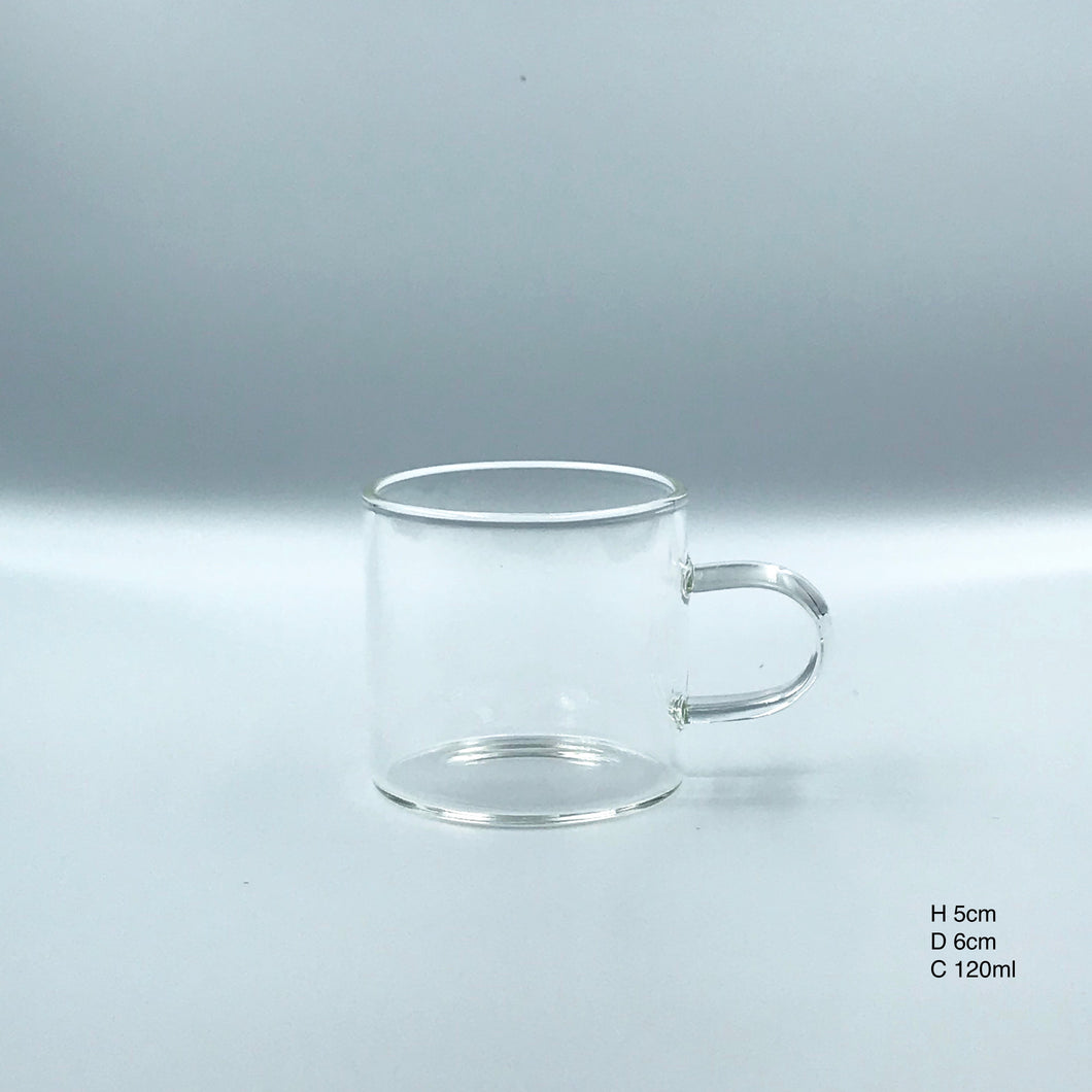 Glass Tea Cup Set A