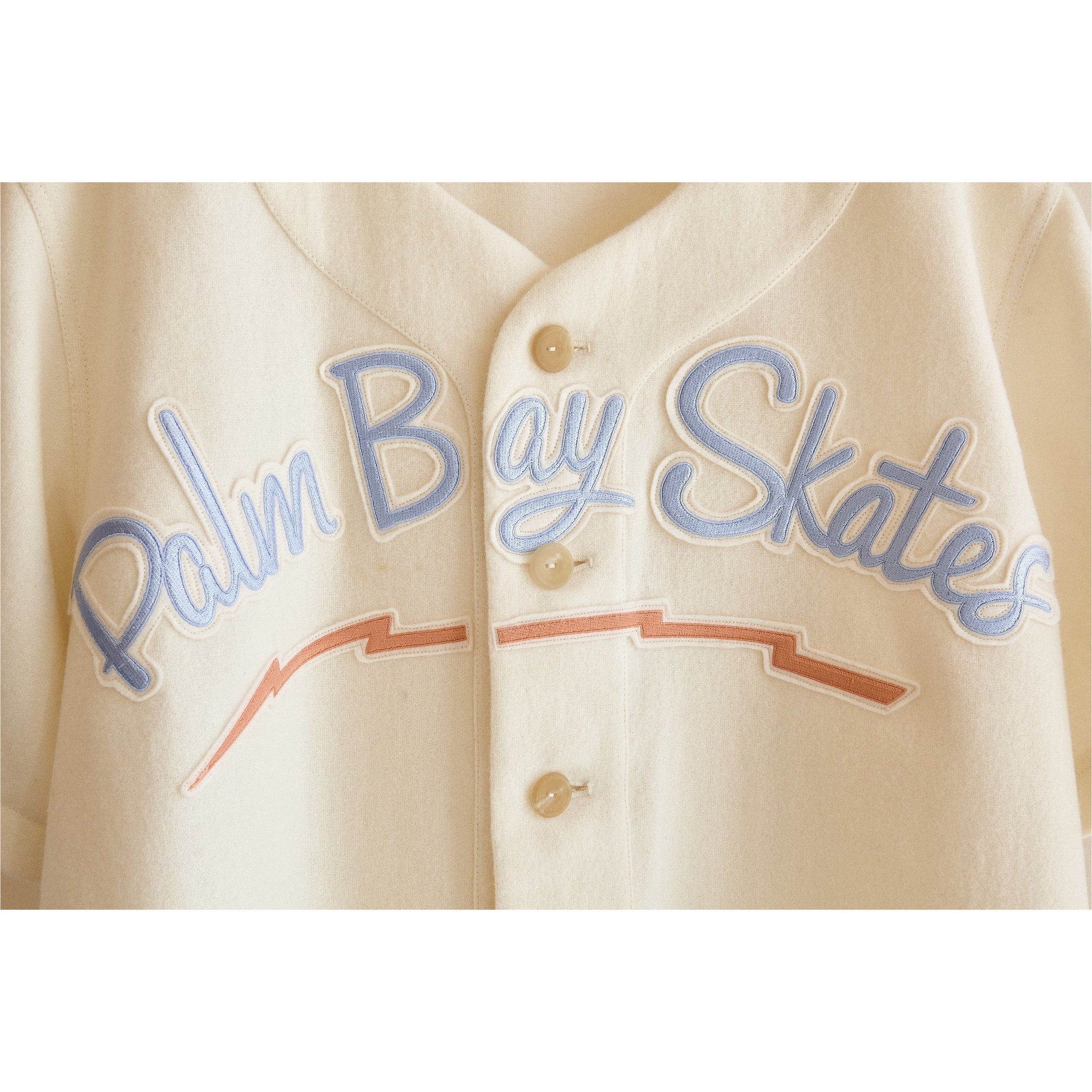 Palm Bay Skates Baseball Jersey