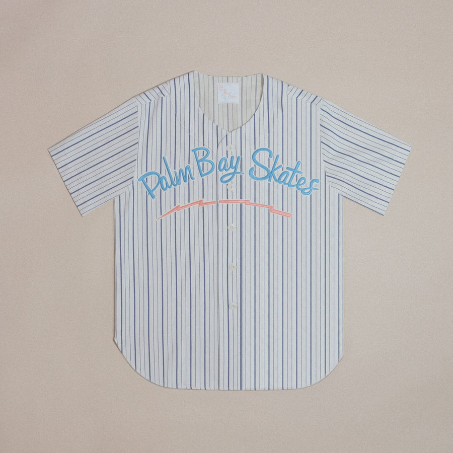 Palm Bay Skates Baseball Jersey (Cotton)
