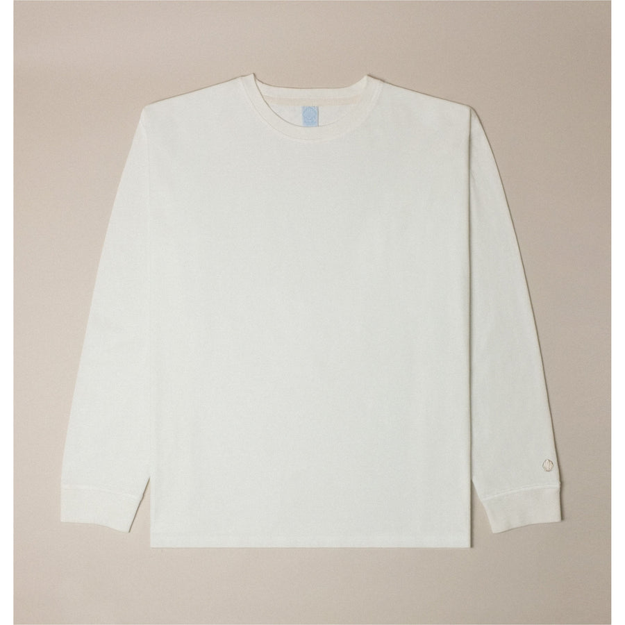 Basic Long Sleeve Tee (Ecru)