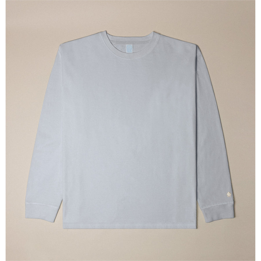 Basic Long Sleeve Tee (Pale Grey)