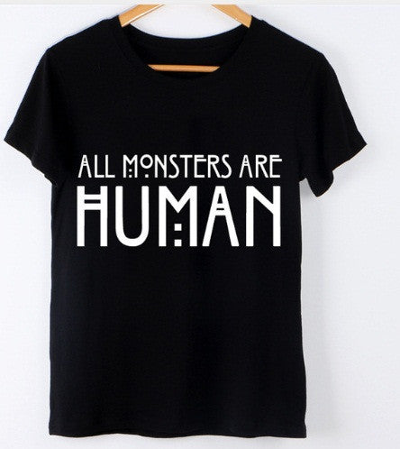 Tricou All Monsters Are Human