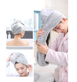Set 2 prosoape-turban SUPERABSORBANTE