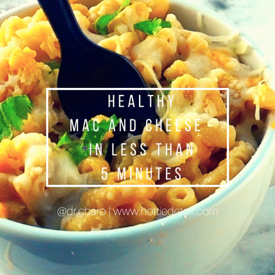 Most craved foods gone HEALTHY! #4 Mac and Cheese in less than 5 minutes! Microwave Mug Meals!