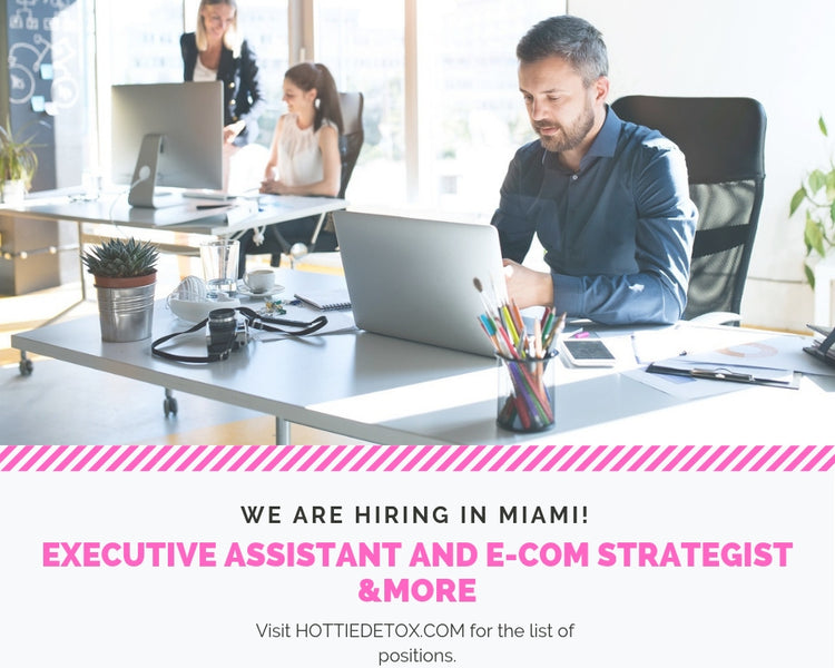 HIRING IN MIAMI: Marketing Executive and E-Commerce Strategist