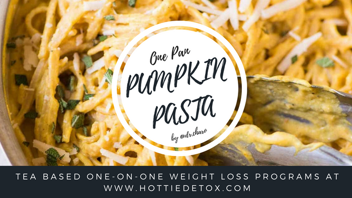 PUMPKIN SAUCE PASTA MADE WITH SQUASH NOODLES
