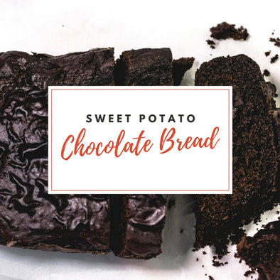 CHOCOLATE BREAD MADE WITH SWEET POTATO | Gluten Free | Paleo