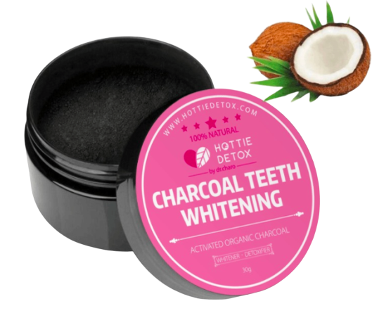 Activated Charcoal Tooth Whitening Polish