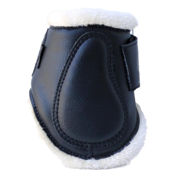 Hind Ankle Jump Boots with Fleece-Ascot Equestrian