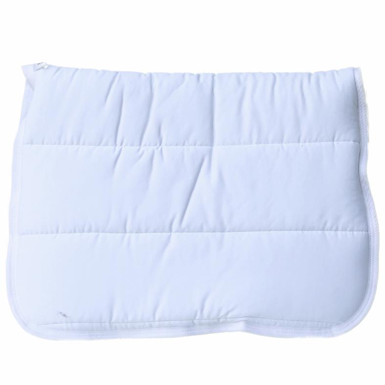 Puffer Saddle pad - White-Ascot Equestrian