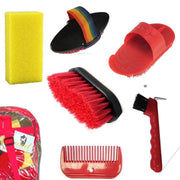 Grooming Kit - Red