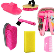 Grooming Kit - Pink-Ascot Equestrian