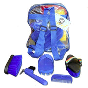 Grooming Kit - Blue-Ascot Equestrian