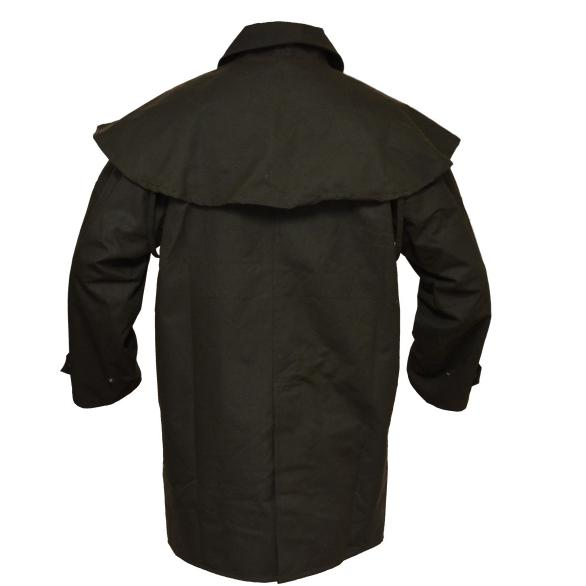 Oilskin Jacket 3/4 Length-Syd Hill & Sons
