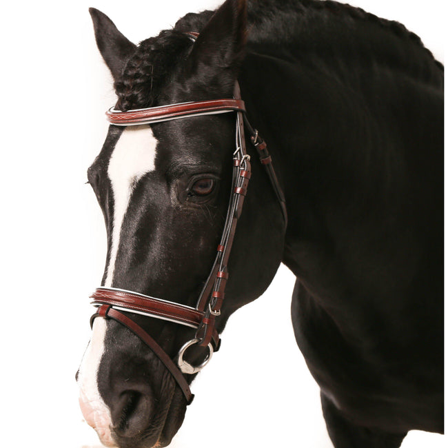 Comfort Hanoverian Bridle-The Wholesale Horse Wearhouse