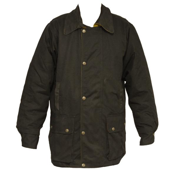 Oilskin Jacket - Brown-Syd Hill & Sons