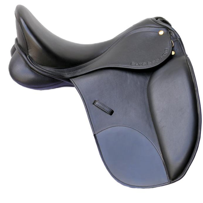 Euro Sport Dressage Saddle - Leather-Eurosport