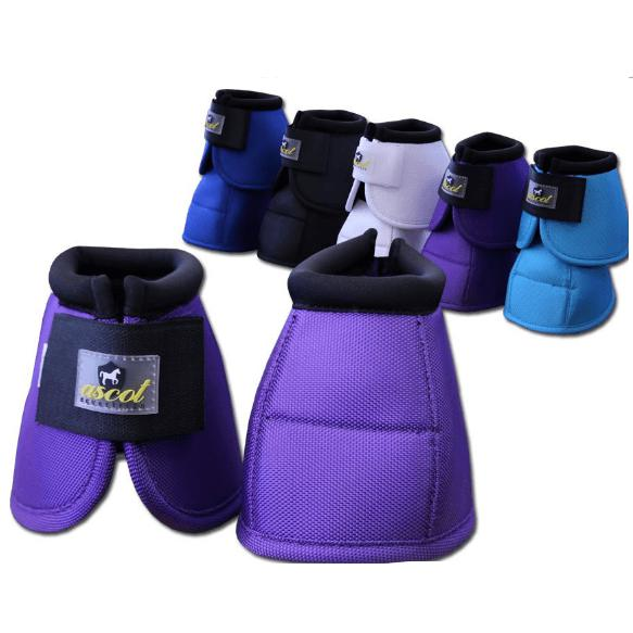 No Turn Bell Boots-Ascot Equestrian